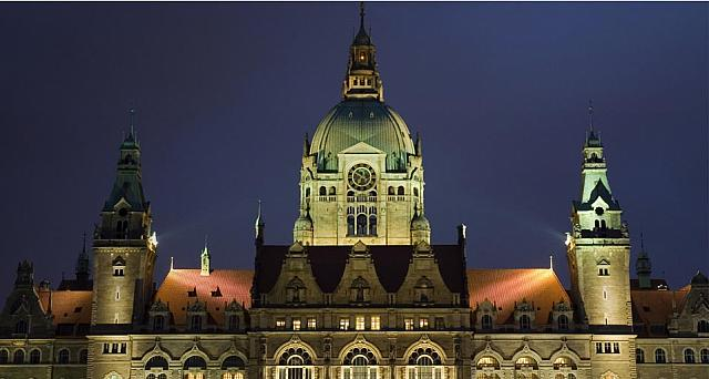 Town Hall in Hanover, Germany