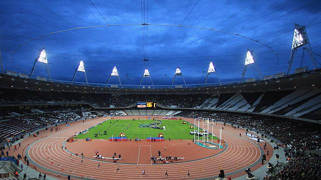 The Olympic Stadium in Stratford, London, England (© Michael Steele)