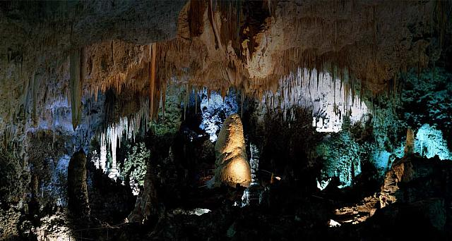 The Big Room in Carlsbad Cavern, Carlsbad Caverns National Park, New Mexico