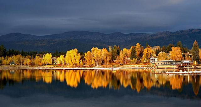 Shore of Payette Lake near McCall, Idaho