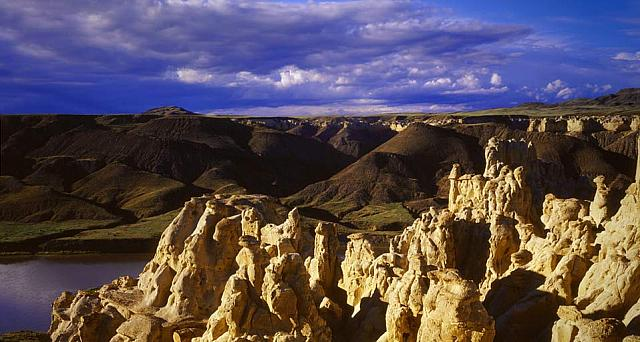 White Cliffs area of the Upper Missouri Breaks National Monument on the Lewis and Clark Trail, Montana