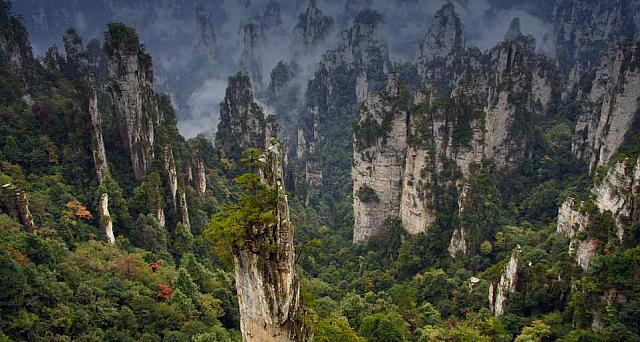 Wulingyuan National Park, Hunan Province, China