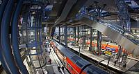 Berlin Hauptbahnhof train station, Berlin, Germany