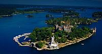 Boldt Castle in The Thousand Islands on the Saint Lawrence River, New York