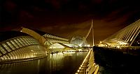 City of Arts and Sciences education and entertainment complex in Valencia, Spain