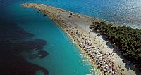 Zlatni Rat (Golden Horn) Beach on Brac Island, Croatia
