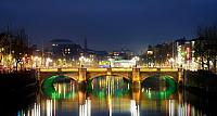 O'Connell Bridge over the River Liffey in Dublin, Ireland