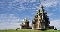 Transfiguration Cathedral on Kizhi Island, Karelia, Russia