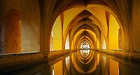 The Baths of Lady Maria de Padilla at the Alcazar os Seville royal palace, Seville, Spain