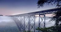 New River Gorge Bridge near Fayetteville, West Virginia