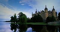 Schwerin Castle, located in the city of Schwerin, the capital of the Bundesland of Mecklenburg-Vorpommern, Germany
