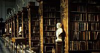 Trinity College, Wren Library at Trinity College, University of Cambridge, England