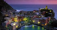 Picturesque town of Vernazza located in northwestern Italy