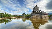 Matsumoto Castle in Nagano here. It is Japan's oldest castle still remains is the castle tower of the early Edo period