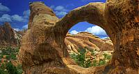 Double Arch in Arches National Park, Utah