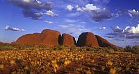 Kata Tjuta rock formations in Uluru-Kata Jyuta National Park, Northern Territory, Australia