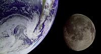 The Earth and Moon