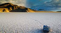 Racetrack Playa in Death Valley National Park, California