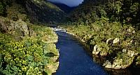 The upper reaches of the Sonwy River in Snowy River National Park, Victoria, Australia