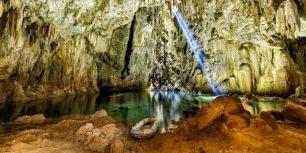 Anhumas Abyss cave near Bonito, Mato Grosso do Sul, Brazil (© Marcio Cabral/360cities.net)