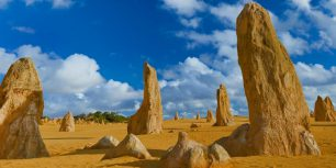 The Pinnacles, Nambung National Park, Australia (© Peter Adams/The Image Bank/Getty Images)