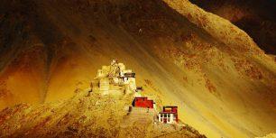 Namgyal Tsemo Monastery, Leh Ladakh, India (© Kelly Cheng/Getty Images)