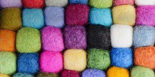 Tibetan wool, Boudhanath, Kathmandu, Nepal (© Tolo Balaguer/age fotostock)