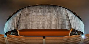 Auditorium Parco Della Musica, Rome, Italy (© Alastair Philip Wiper/Corbis)