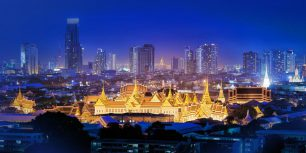 The Grand Palace, Bangkok, Thailand (© Amarate Tansawet Gift of Light/Getty Images)