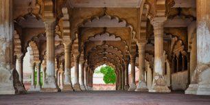 Agra Fort in Agra, Uttar Pradesh, India (© Bryan Mullennix/Corbis)