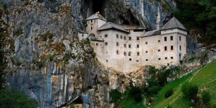 Predjama Castle, Slovenia (© Silanes Travel Photography/Getty Images)