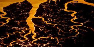 Suwannee River delta, Florida (© Frans Lanting/Corbis)