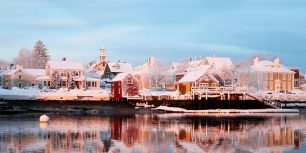Piscataqua River, Portsmouth, New Hampshire (© Denis Tangney Jr./Getty Images)