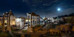 Roman Forum, Rome, Italy (© Marco Romani/Getty Images)