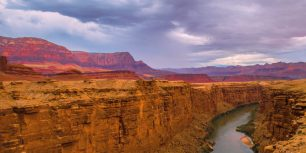 The Colorado River and Marble Canyon, Grand Canyon National Park, Arizona (© Gavin Heffernan/Shutterstock)