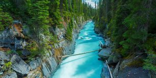 Numa Falls in Kootenay National Park, British Columbia, Canada (© r.classen/Shutterstock)