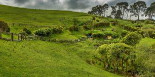 Hobbiton, near Matamata, North Island, New Zealand (© imageBROKER/Rex Features)