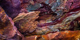 Rock formations on The Loop, Kalbarri National Park, Australia (© R. Ian Lloyd/Masterfile)