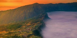 Cemoro Lawang near Mount Bromo, East Java, Indonesia (© Nat Wimolsiri/REX Shutterstock)