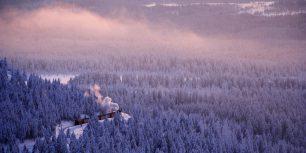 The Brocken Railway line in the Harz mountain range of Germany (© Rudi Sebastian/age fotostock)
