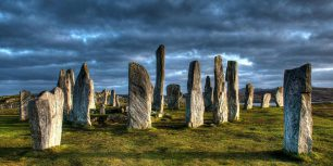 The Callanish Stones on the Isle of Lewis, Scotland (© Tomas Vrba and Lindsey Parkinson/500px)