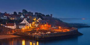 Crail Harbour in the East Neuk of Fife, Scotland (© Pietro Bevilacqua/500px)