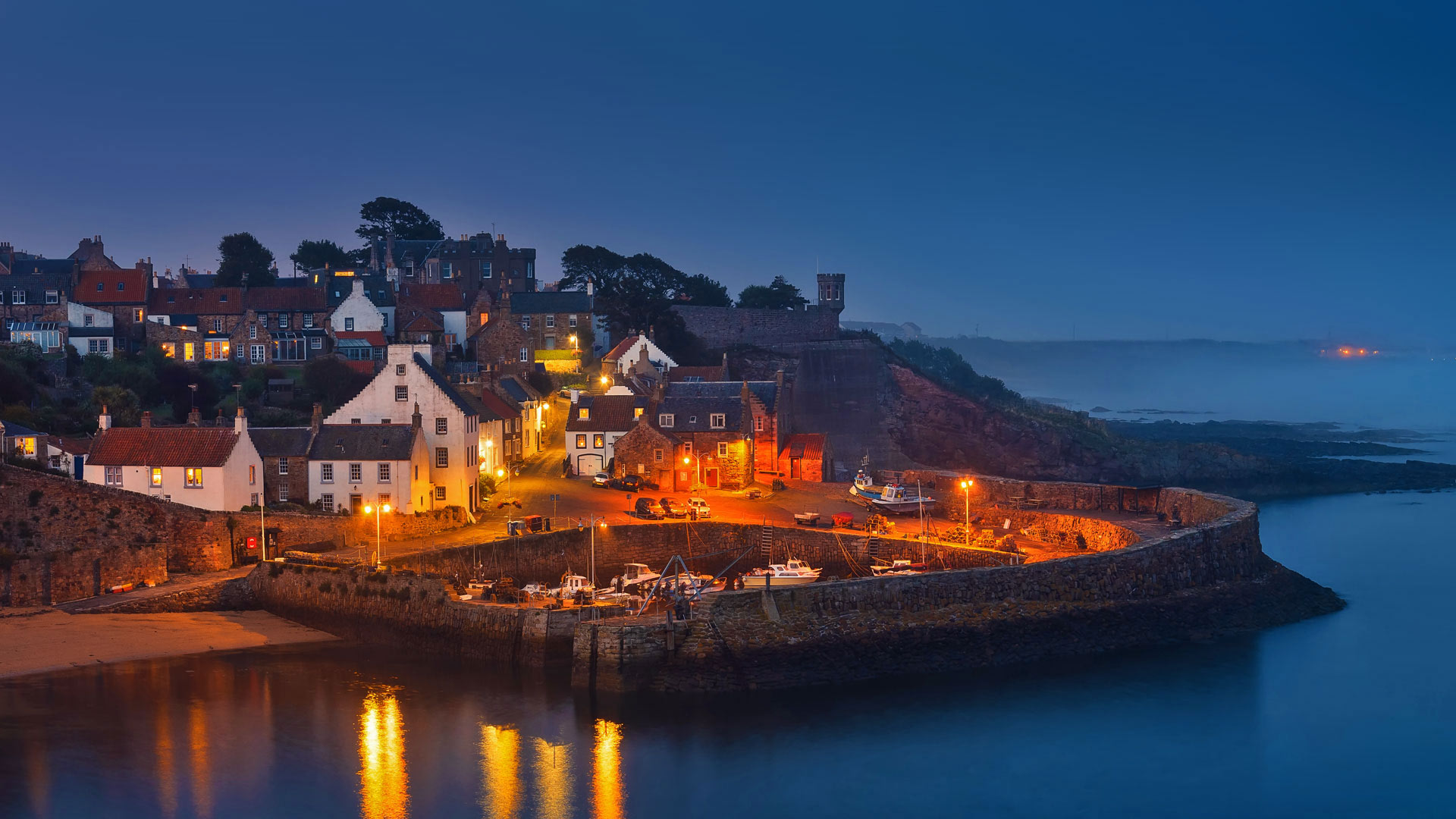 Crail Harbour in the East Neuk of Fife, Scotland (© Pietro Bevilacqua/500px)