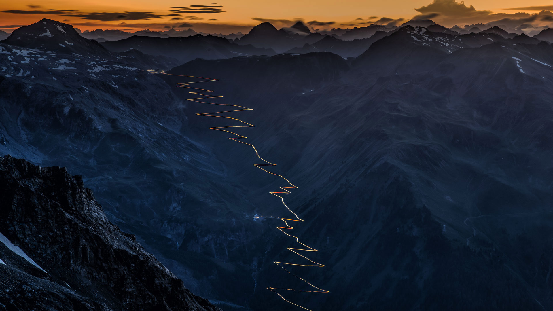 Stelvio Pass in the Ortler Alps, Italy (© Sandro Bisaro/Getty Images)