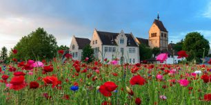 Minster of St Mary and St Mark, Reichenau Island, Baden-Württemberg, Germany (© Westend61/Getty Images)