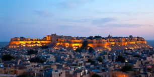 Jaisalmer Fort in Rajasthan, India (© Pep Roig/Alamy Stock Photo)