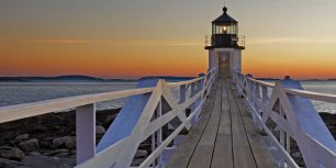 Marshall Point Lighthouse in Port Clyde, Maine (© S. Greg Panosian/Getty Images)