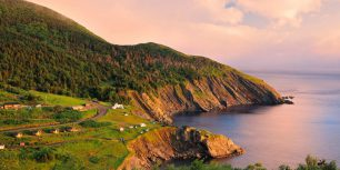 Sunset on Cape Breton Island, Nova Scotia, Canada (© Mike Grandmaison/Alamy Stock Photo)