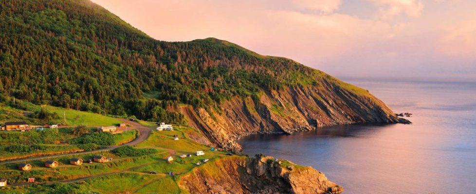 Sunset on Cape Breton Island, Nova Scotia, Canada (© Mike Grandmaison/Alamy Stock Photo)